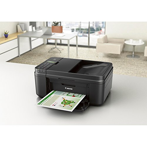 Canon PIXMA MX492 WiFi All-In-One Compact Size Inkjet Printer (0013C002) w COLOR Ink Bundle Includes, Genuine COLOR Ink Cartridge, 6-Outlet Surge Adapter & 1 Year Extended Warranty by Canon (Image #3)