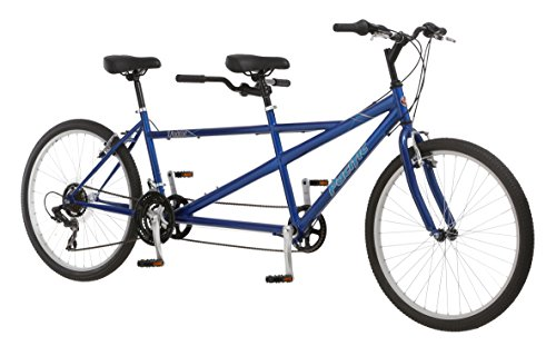 Pacific Dualie Tandem Bicycle w/ 26inch Wheels,Blue, One Size by Pacific (Image #2)