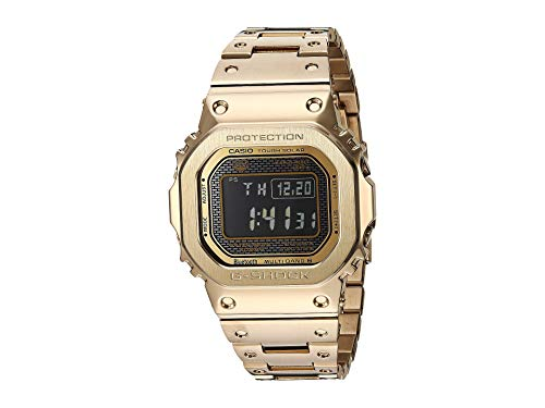 - G-Shock Men's GMW-B5000GD-9CR Gold One Size