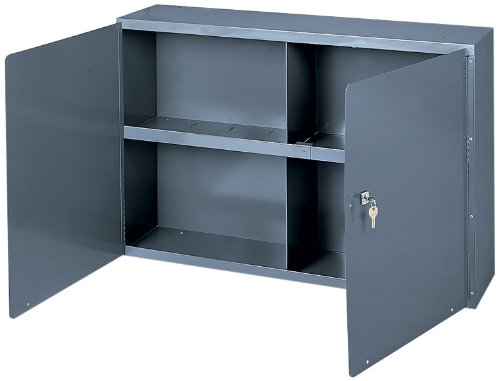 Gray Stacking Storage Cabinet (Durham 343-95 Gray Cold Rolled Steel Utility Cabinet with Lock, 33-3/4