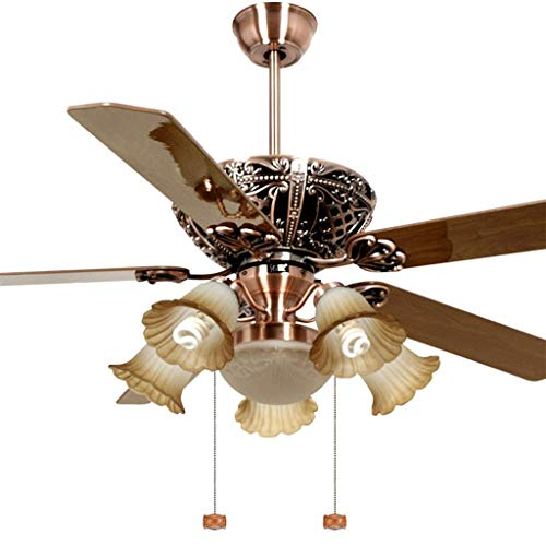 MoiHL-Deckenventilator-Licht-152cm-Wohnzimmer-Ventilator-Licht-Ventilator-Licht-Wohnzimmer-mit-Kronleuchter-Ventilator-Zugseilsteuerung