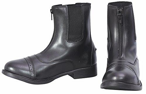 - TuffRider Ladies Starter Lite Zip Paddock Boots - Black 6