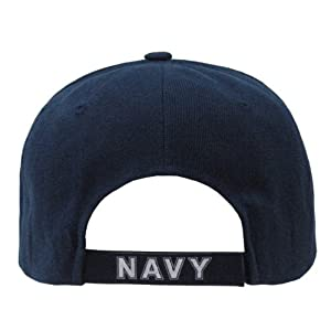 RAPID DOMINANCE The Legend, Military Branch Caps (Adjtable , Navy Text Navy) from Rapid Dominance