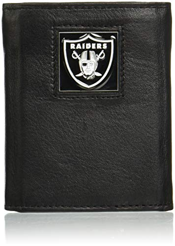 NFL Oakland Raiders Leather Tri-Fold Wallet