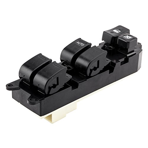 SUNROAD Electric Power Window Lifter Mirror Master Control Console Switch Front Left Driver Side for Toyota 1996-1997 4Runner / RAV4 & 1994-1996 Camry & 1995 1996 1997 Tercel & 1993-1997 - Corolla 97 Window Toyota