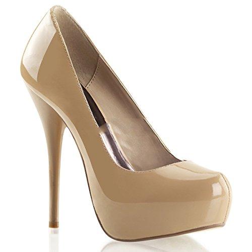 Pleaser Day & Night - Gorgeous-20 - sexy zapatos de tacón alto mujer piel plataforma - tamaño 35-42