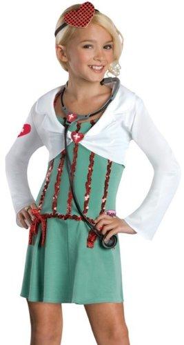 Rubies Girls Bratz Doll Doctor Outfit Kids Halloween Costume L