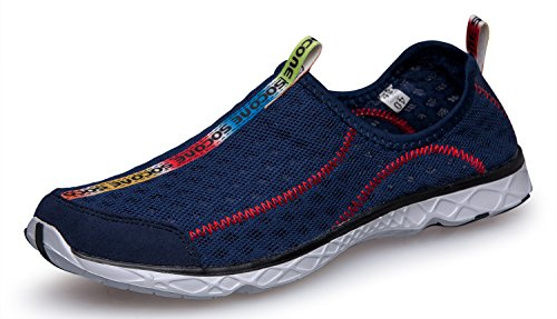 Zhuanglin Men\'s Quick Drying Aqua Water Shoes Size 7