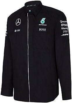 Mercedes AMG F1 camisa de manga larga: Amazon.es: Deportes y aire libre