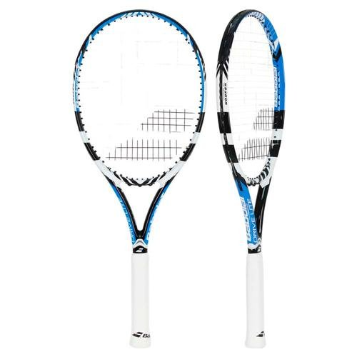 babolat drive lite blue and white tennis racquet buy online in uae sporting goods products. Black Bedroom Furniture Sets. Home Design Ideas