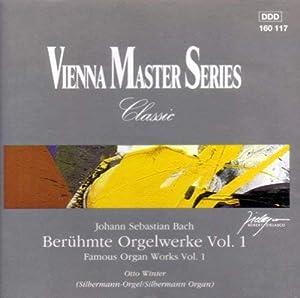 Audio CD Bach: Famous Organ Works, Vol. 1 Book