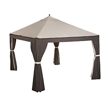 8-Bar 10 x 12 Gazebo Replacement Canopy and Netting - RipLock 350  sc 1 st  Amazon.com & Amazon.com: 8-Bar 10 x 12 Gazebo Replacement Canopy and Netting ...