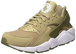 318429-200 Men Air Huarache Nike Khaki Medium Olive White