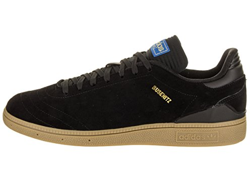 adidas Men's Busenitz Vulc RX Skate Shoe Core Black,gum4,goldmt