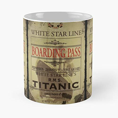(Collectible Titanic Images Guilded Age Ships Olympic - Funny Coffee Mug, Gag Gift Poop Fun Mugs)