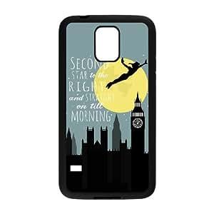 Samsung Galaxy S5 Cell Phone Case Black Peter Pan 003 WON6189218030956