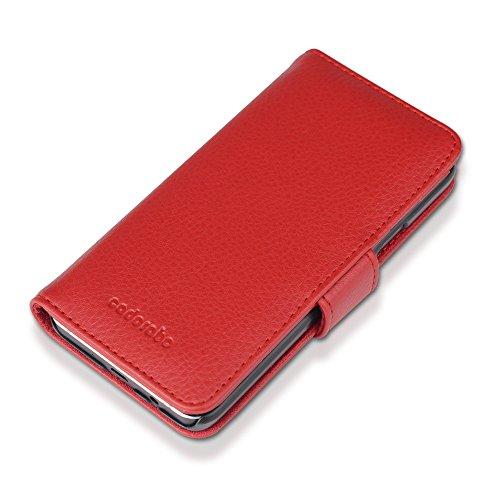 Cadorabo - Funda Samsung Galaxy A3 (5) (Modelo 2015) Book Style de Cuero Sintético en Diseño Libro