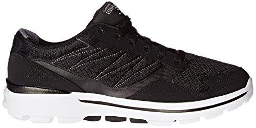 Skechers Performance Men's Go Walk 3 Compete Lace-Up Walking Shoe, Black/White, 10 M US Photo #7