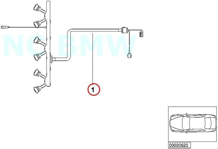 Amazon.com: BMW Genuine Engine Ignition Module Wiring Harness: AutomotiveAmazon.com