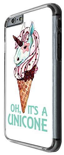 967 - Cool cute fun unicorn ice cream doodle food love Design For iphone 4 4S Fashion Trend CASE Back COVER Plastic&Thin Metal -Clear