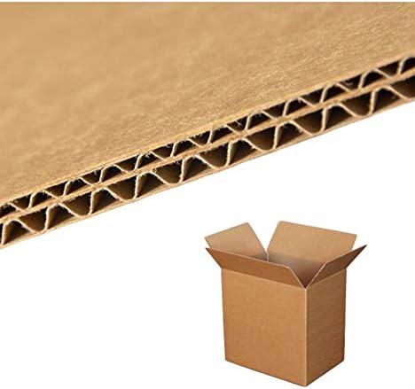 imballaggi2000 Caja de Cartón Doble Onda the 60 X 40 X 40 mm, 50 ...