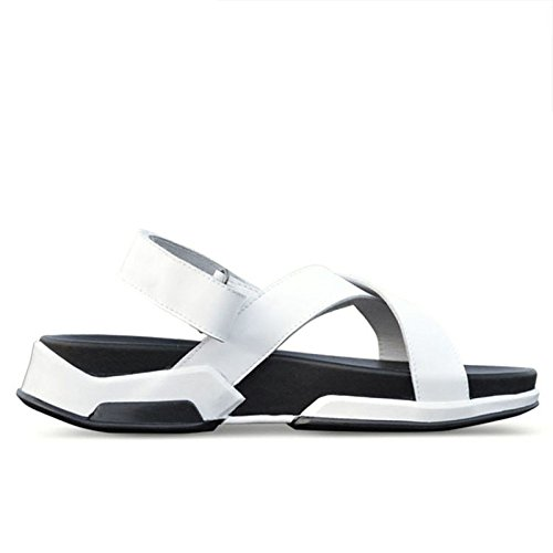 Beach Sandals White da Uomo LEDLFIE Scarpe Summer qXTPxR7
