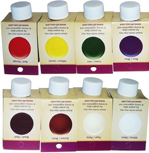 Castin' Craft set of 8 opaque colors for resin (Eti Resin)