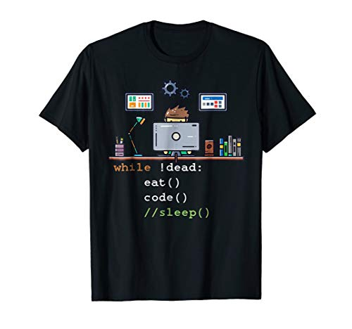 Computer Science Python Programmer Eat Code Sleep T-Shirt