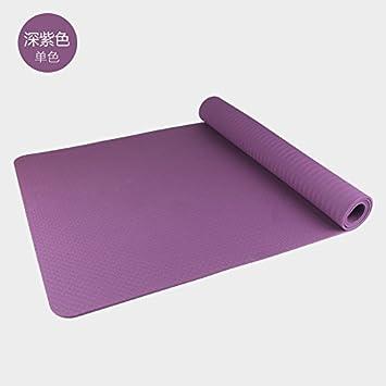 YOOMAT TPE Mat 80cm Yoga Mat Extra 8 mm de Espesor de Doble ...