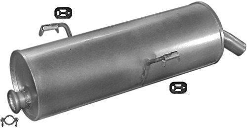 ETS-EXHAUST 51411 Silenziatore marmitta Posteriore + kit di montaggio (pour 206 1.1 1.4 1.6 HATCHBACK 60/75/90hp 1998-2003) ETS-SCARICO