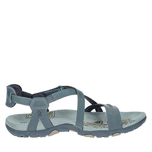 Merrell Sandspur Rose Leather Shoes Women Blue Shoe Size 36 2018 SCQ5cBez