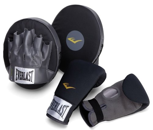 Everlast Boxing Fitness Kit, Black/Grey