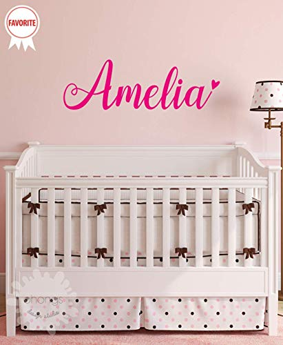 *SALE* A Girls Name Decal/Custom name sticker/Personalized Wall Decal/Baby Name Decal/kids name sticker