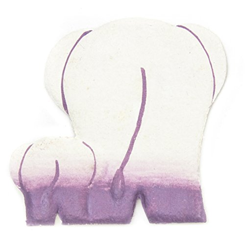 (Mr. Ellie Pooh Fair Trade Purple Mama and Baby Butts Office Magnet, (910-814959022088))