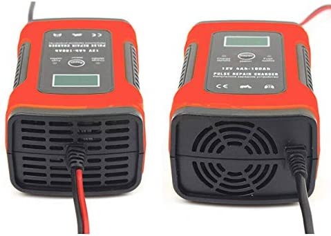 Rescue and Recover Batteries for Cars Boat Battery Charger /& Maintainer 12V 5A Fully Automatic Car Charger with LCD Screen Motorcycles Wigbow Car pulse Battery Charger