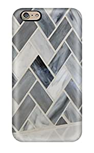 For Iphone Case, High Quality Chevron Backsplash With Texture And Pattern In Kitchen For Iphone 6 Cover Cases