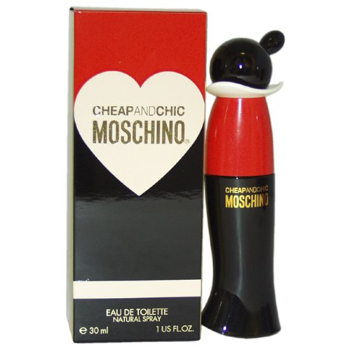 Moschino Cheap and Chic Eau De Toilette Spray for Women, 1 Ounce