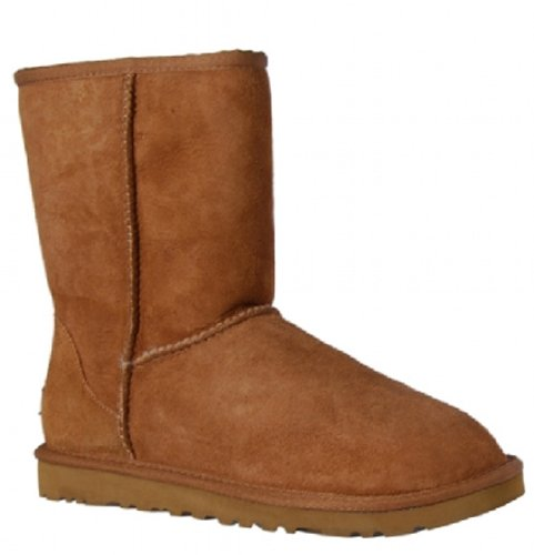 ugg-australia-classic-chestnut-sheepskin-girls-boots-size-5-m-5251y
