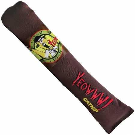 Yeowww Cigar Catnip Toy, - Cigars Single Cigar