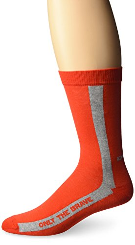 - Diesel Men's Fresh and Bright Ray Sock, Red with Grey Stripe, Sock Size:10-13/Shoe Size: 6-12