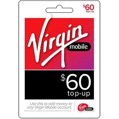 virgin mobile card top up - 5
