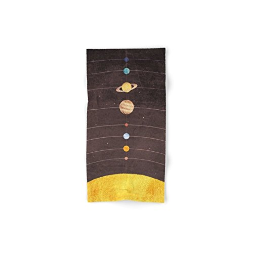 Society6 Solar System Set of 4 (2 hand towels, 2 bath towels) by Society6