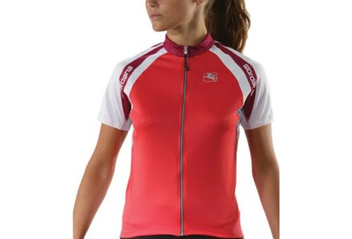 Giordana Silverline Short Sleeve Jersey - Women's - coral, small (Jersey Silverline Womens Giordana)