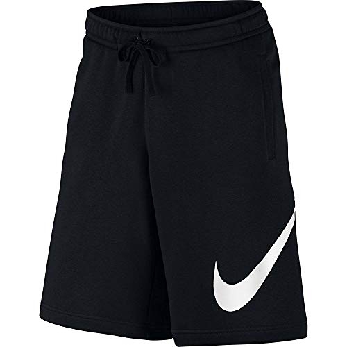 Flc Club Noir Pantalon Nsw blanc M Exp Homme Court Nike 1wCFqF