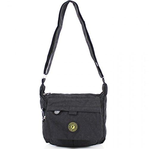 Cross Ladies Handbag Mini Women Messenger Satchel Tote Shoulder Weight Light Bag Body Black O4tF4Rx