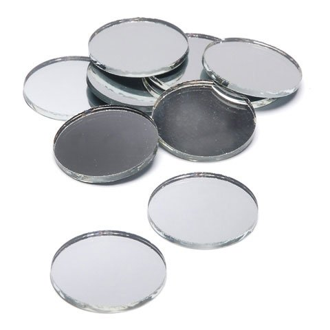 Better Crafts Better Crafts FLORAL MIRROR ROUND 1 INCH 10 PIECES (6 pack) (01613-420) price tips cheap