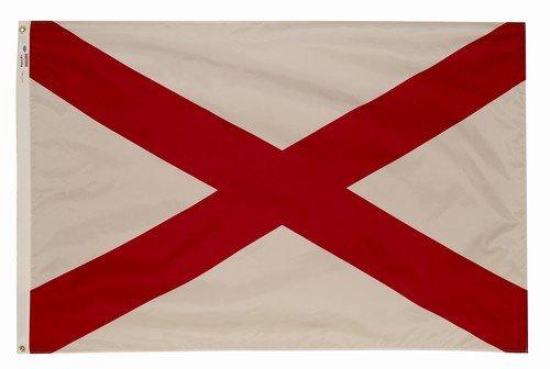 Cheap 4×6 Alabama State Flag American Made Superior Outdoor Nylon