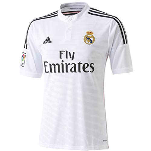 Adidas Soccer Replica Jersey: adidas Real Madrid Youth Home Replica Soccer Jersey 14/15 ()