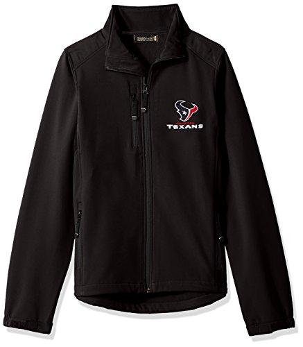 Dunbrooke Apparel NFL Houston Texans Men's Softshell Jacket, Small, Black ()
