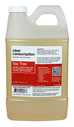 Gallon Clear Consumption Natural Foaming product image